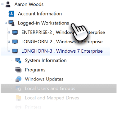 Detect User Desktop Login Sessions