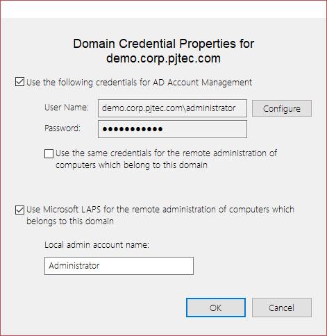Remote Access: Using Alternate Credentials