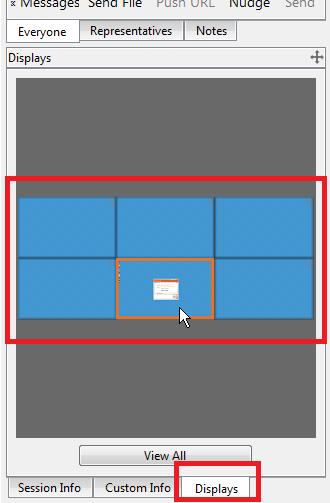 Preview All Monitors Tab/Pin