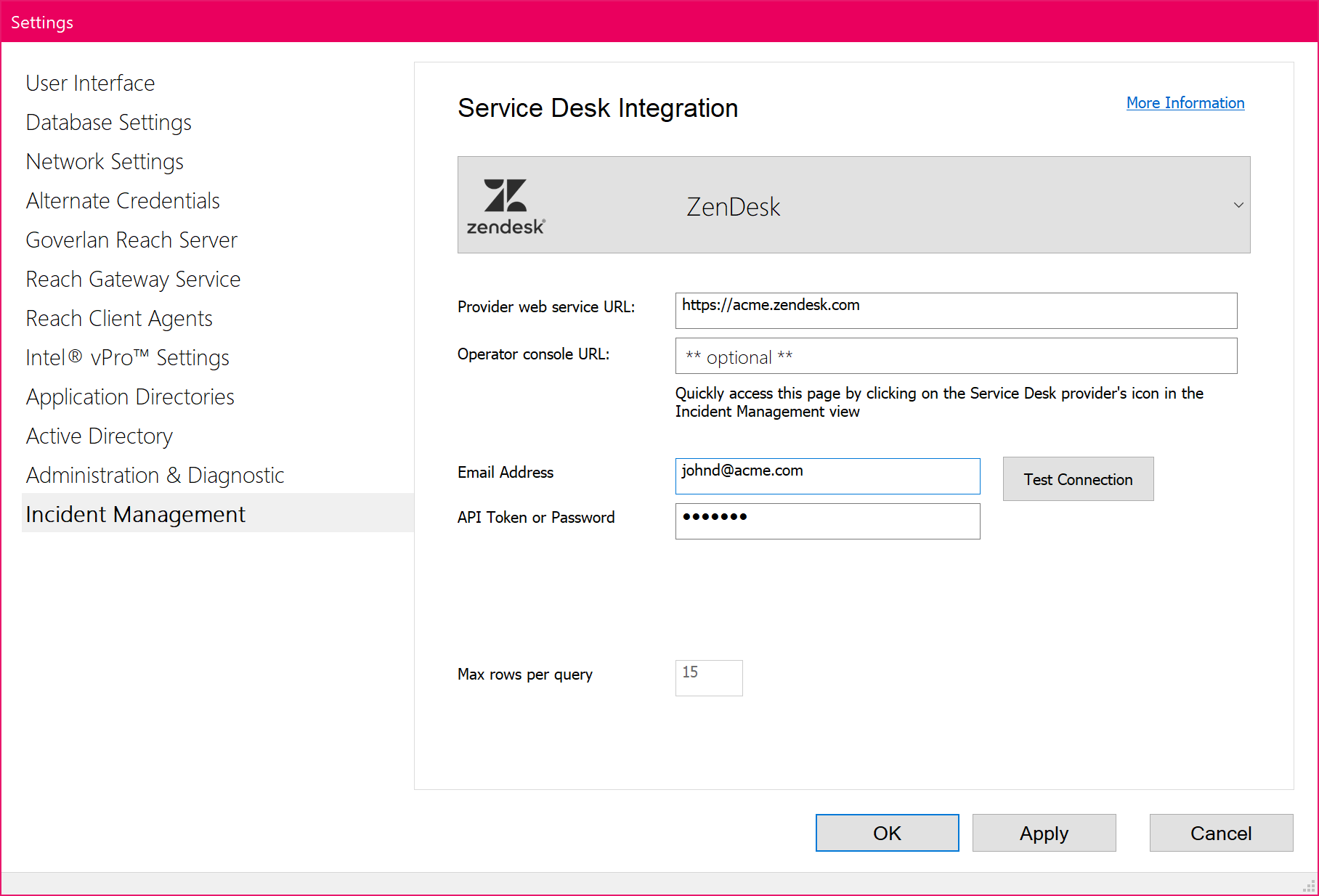 ZenDesk integration with remote support Goverlan