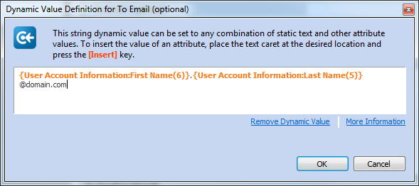 IT Process Automation - Alert end users of their password