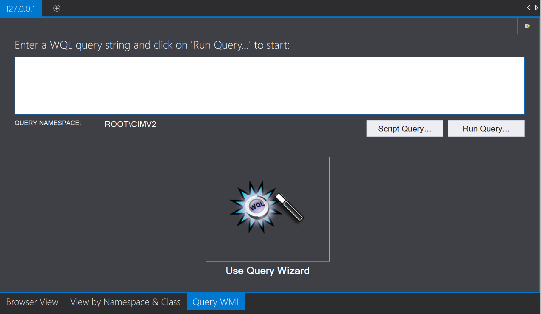 Query WMI Objects with Goverlan's WMI Explorer